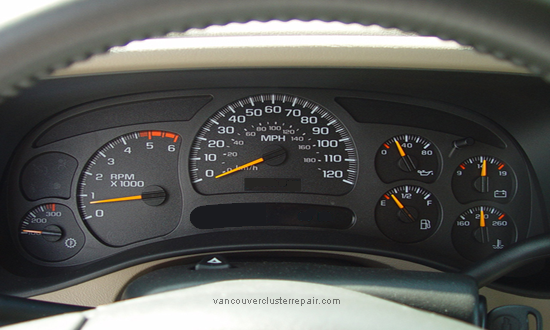 Chevrolet Instrument Cluster Repair